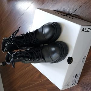 Also leather lug boots